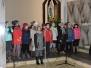 Klasa IIIa na uroczystej Mszy Świętej